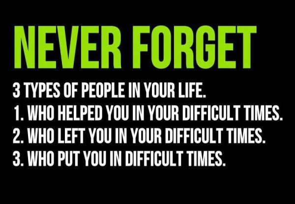 Funny Quotes On Staying Positive | never forget people quote saying pic funny quotes about people
