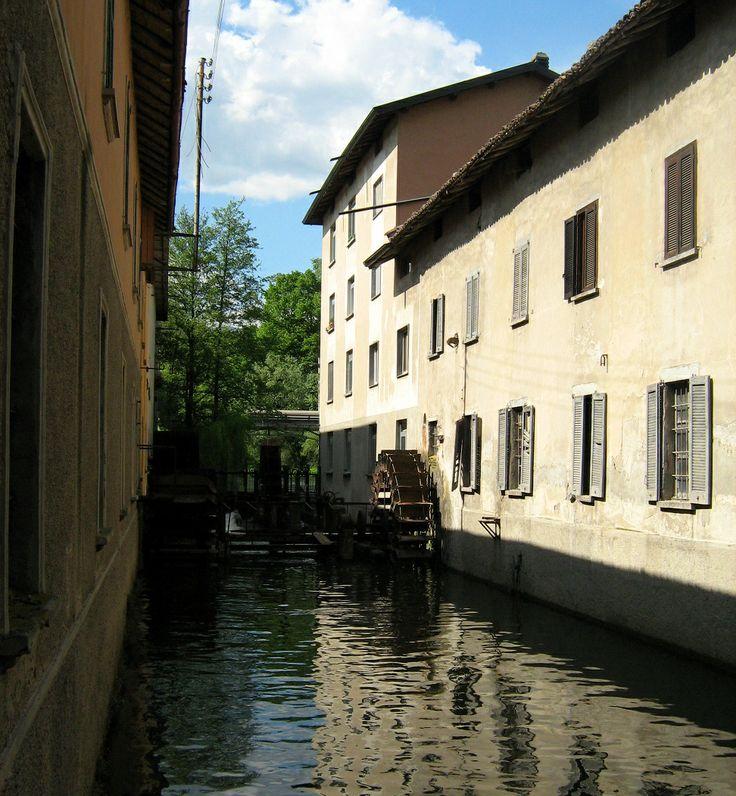 Molino di Baggero (1722), sul fiume Lambro by Luigino Daniele #lambro