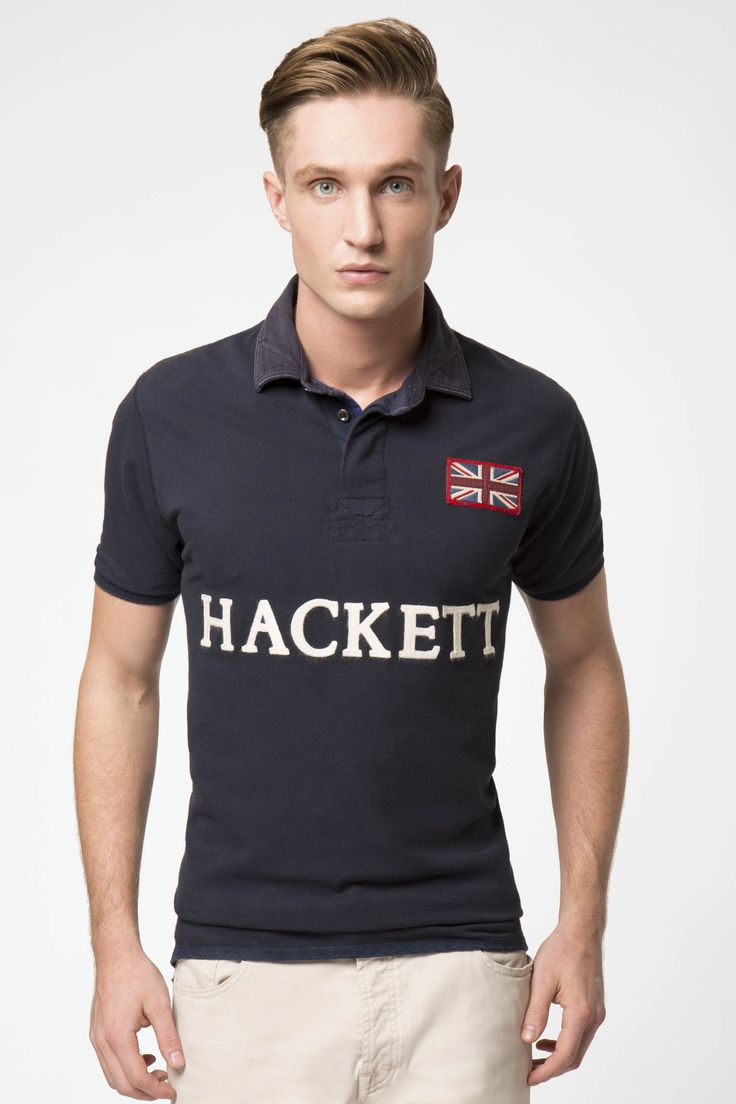 The Great British Polo. Keep it classic and indulge in true heritage with the timeless Hackett polo.