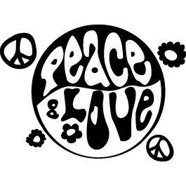 Le symbole Peace and love était dans mon monde ;-)  D'ailleurs, en connaissez vous l'origine ? la réponse dans les z'ed http://leszed.ed-productions.com/origine-du-symbole-peace-and-love/