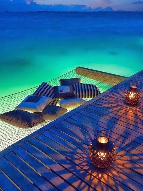 hammock off the dock                                                                                                                                                      More