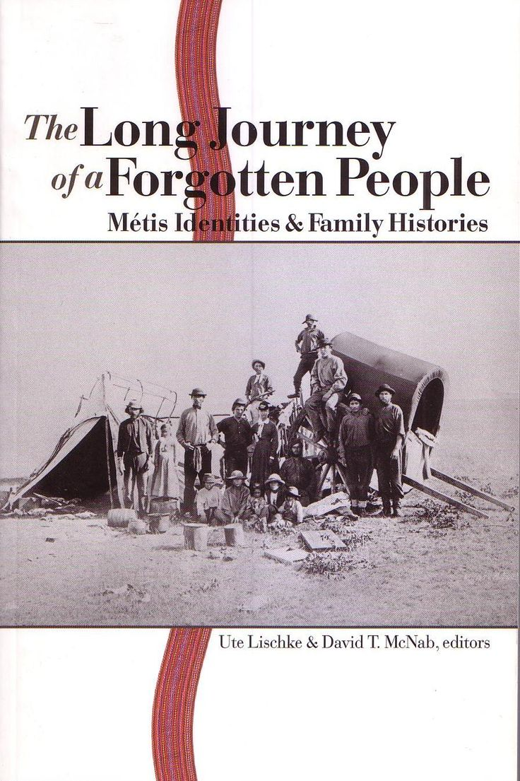 """The Long Journey of a Forgotten People, featuring the chapter """"Searching for the Silver Fox: A Fur Trade Family History"""" by Virginia Barter: Features stories that can be shared in a storytelling session with students. From Virginia Barter's website: """"There are many personal family stories that I tell, I also frame the stories around the general history of the fur trade era and the Hudson's Bay Company."""""""