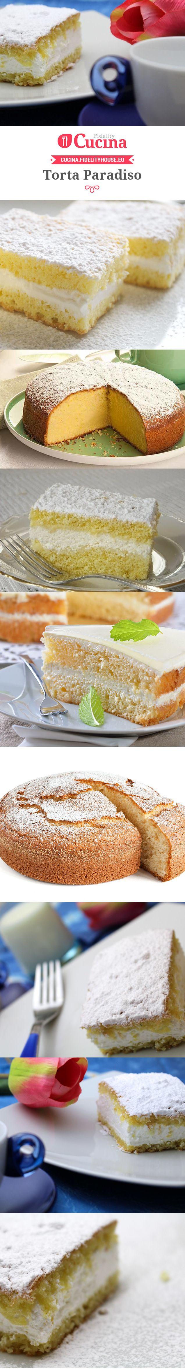 Ricetta Torta Paradiso - Le ricette di