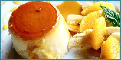 Flan de queso de O´Cebreiro