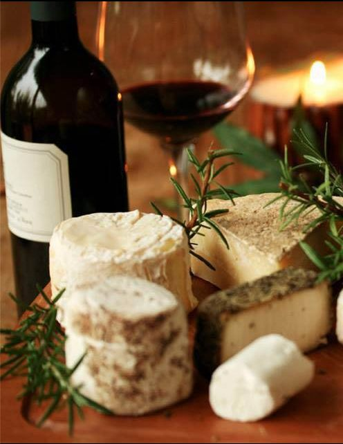 Wine and cheese, from Iryna