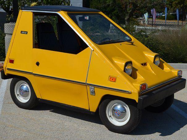 Sebring-Vanguard CitiCar, Release year: 1974 Un city car ...