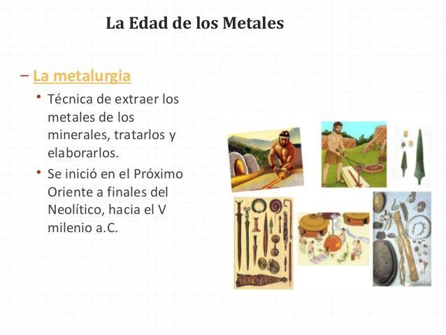 La Edad De Los Metales El Cobre Castellon Almeria
