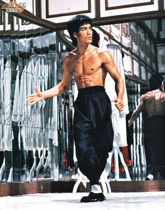 Be a mirror, respond like an echo. A very important scene from the movie 'Enter The Dragon'