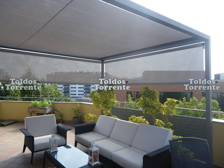 te ofrecemos las prgolas de aluminio ms elegantes del mercado ligeras y fabricadas a medida terrazas