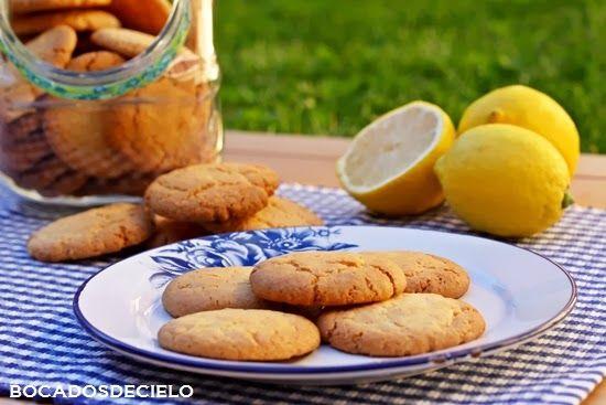 Galletas de limón   Bocadosdecielo