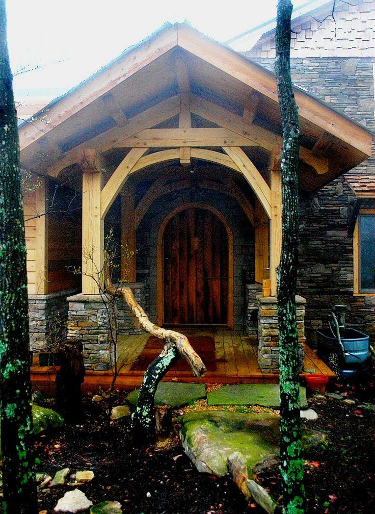 12 best Timber Frame Porch - Homestead Timber Frames images on ...