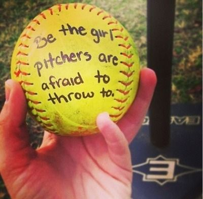 Softball Pitcher Quotes Tumblr Images & Pictures - Becuo