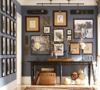 Photo & Items Wall Collage