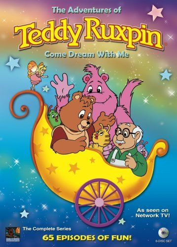 Teddy Ruxpin I enjoyed this show so much that I had the mechanical toy bear of him. Teddy, Speak & Spell, and my Alphie.......mann that was all I needed to be one happy kid.