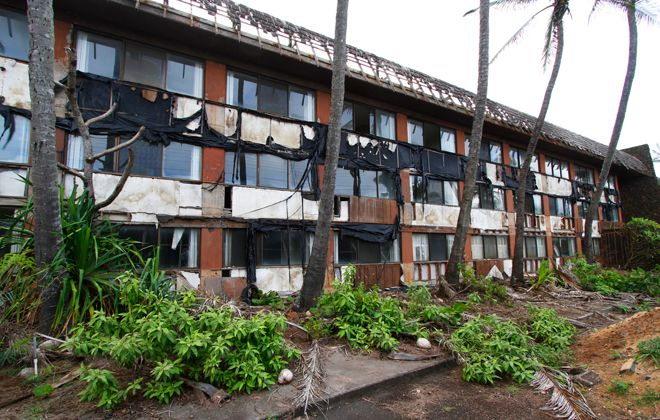 Dennis Oda / 2013Work on resurrecting the dilapidated Coco Palms Hotel on Kauai is slated to get underway soon following approval on a number of permits.