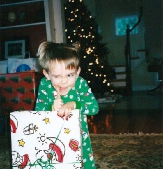 Before the Grinch stole Christmas.