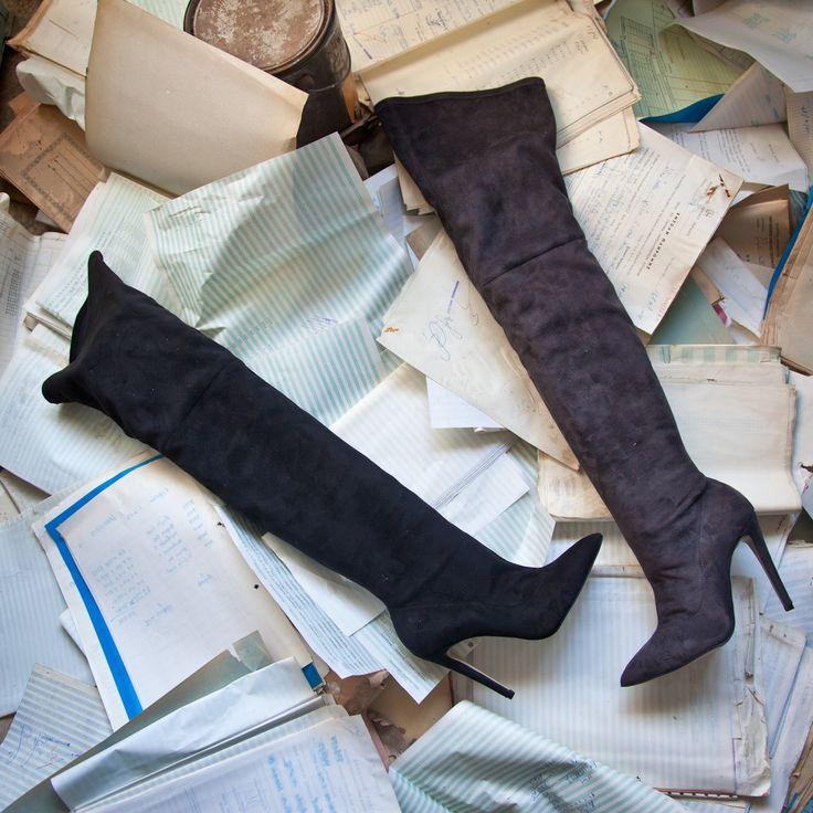 SANTE Over the Knee Boots #followSANTE #shopSANTE