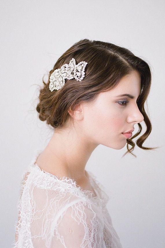 Wedding Hair CombBridal Hair CombCrystal Bridal by BrideLaBoheme