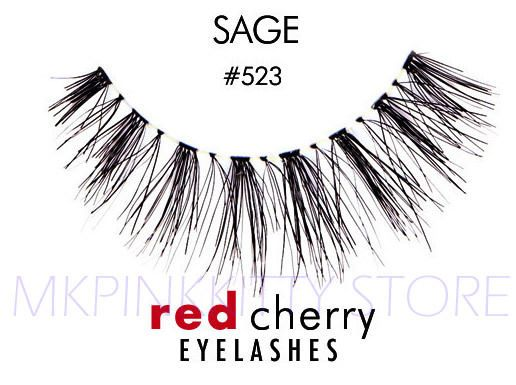 Red Cherry Lashes #523 False Eyelashes [LOT OF 3]* NEW*  19474007194 | eBay
