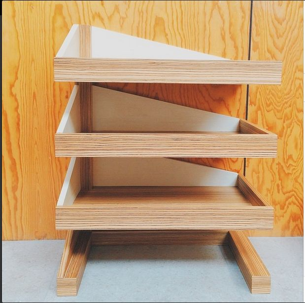 """Our latest piece of furniture, was inspired by a """"centipede"""" . #ganico #furnituredesign #productdesign #mexicandesign #materialhandling #wood #designinnovation #furniture"""