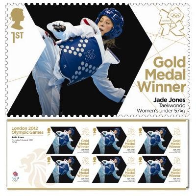 Large image of the Team GB Gold Medal Winner Miniature Sheet - Jade Jones