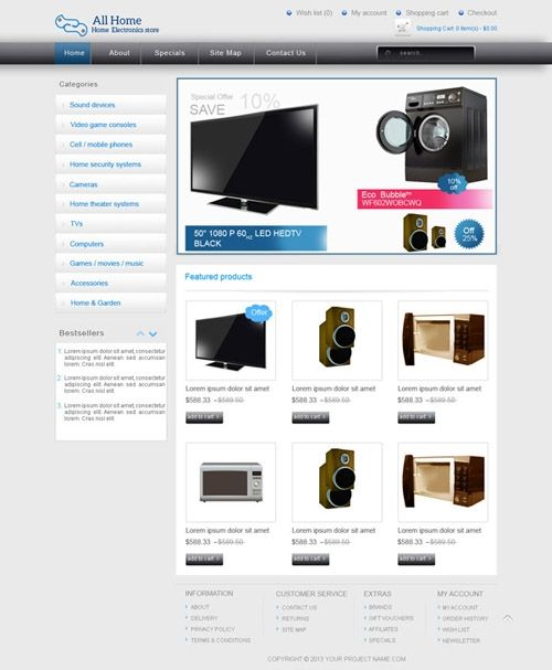 Online Shopping Templates available at www.buycmstemplate.com