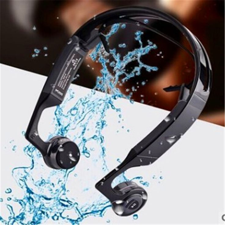 ==> [Free Shipping] Buy Best wireless earphones bone conduction with adjustable neck length hands-free call function 10 days stand by Online with LOWEST Price | 32812418987