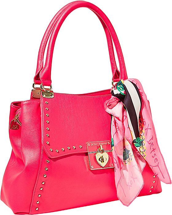 WRAP PARTY SATCHEL FUCHSIA accessories handbags non leather satchels