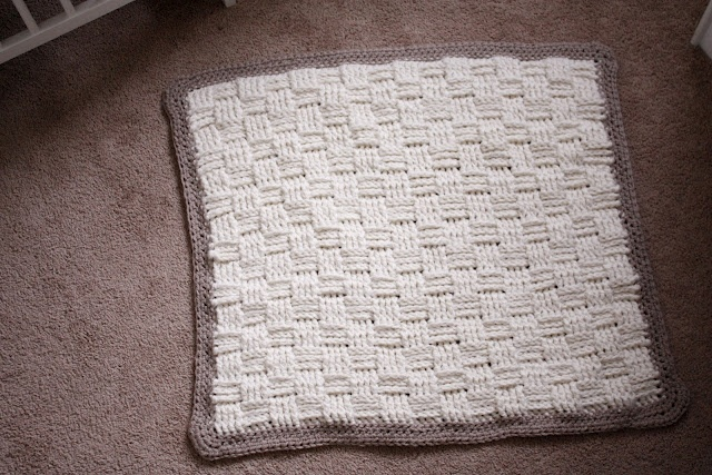 How To Do A Basket Weave Knit : Best basket weave crochet blanket ideas on