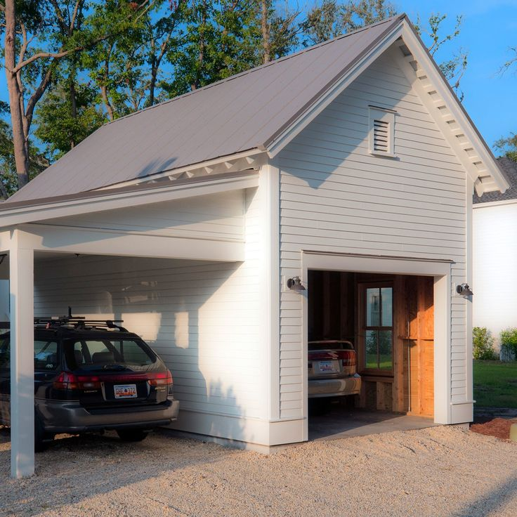19 best garage ideas images on pinterest garage 2 car for Southern living detached garage plans