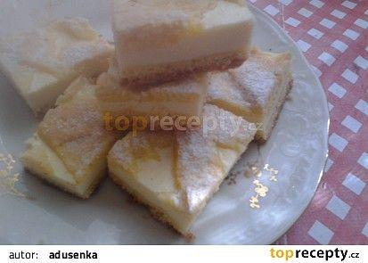 Křehký tvarohový koláč recept - TopRecepty.cz