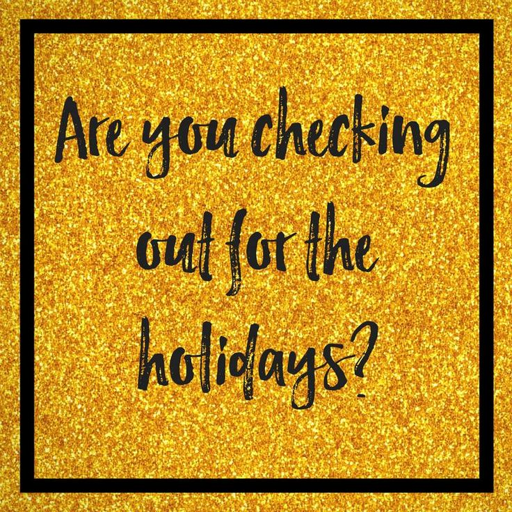 Are you checking out for the holidays when it comes to your business?   Click to read more or pin for later!