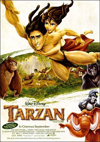 disney movie posters | Tarzan - Disney Animation