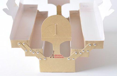 【DIY】『ミスタードーナツ』の箱や商品を再利用&カスタマイズ♪100均材料をちょっと加えるとよりステキに♪