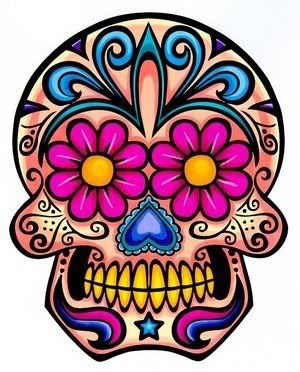 Beautiful Sugar Skull Products Available at MoonChild. Fast, Low Cost Uk Shipping!