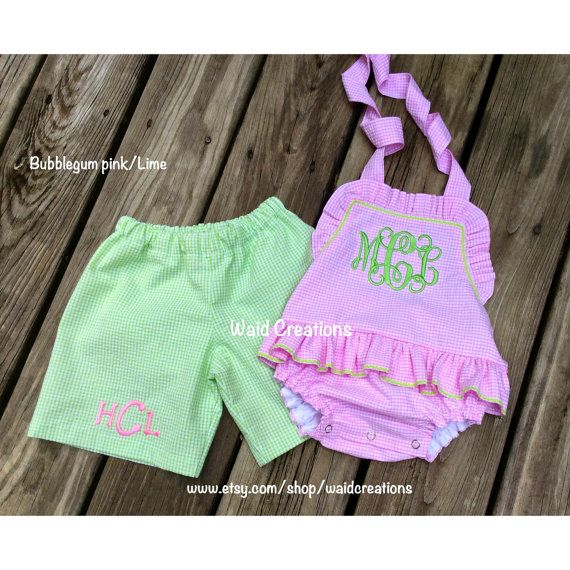 Hey, I found this really awesome Etsy listing at https://www.etsy.com/listing/240865350/monogram-baby-toddler-girl-swimsuit