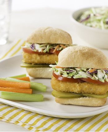 Fish Sandwich with Tangy Cole Slaw http://wm13.walmart.com/Cook/Recipes/30734