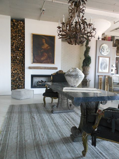 Fireplace designed by MichelleNiday Interiors.