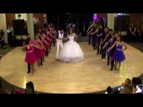 ▶ ▶ Jennifer's Quinceanera Vals: Tiempo De Vals Y El Vals de Las Mariposas! - YouTube