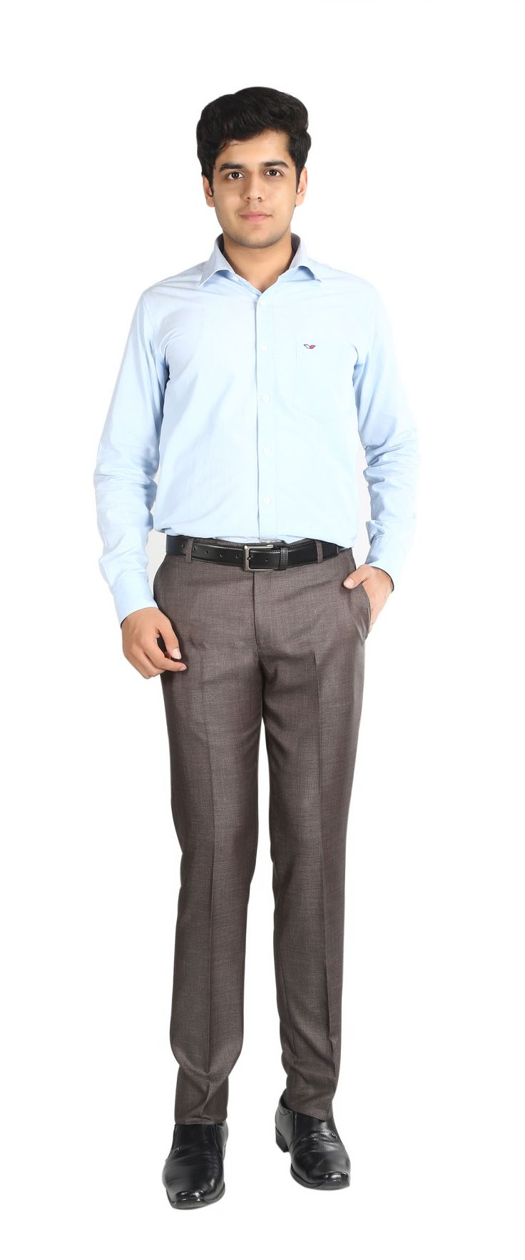 Brand Name= NUMERICS Size= 30-38 Shade= Brown Fit= Slim Fit Fabric= POLYSTER VISCOSE Price= 1260/- Discount= 40% Now Price= 756/-