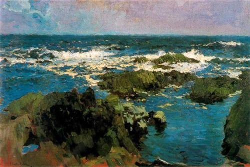 sorolla- mar y rocas