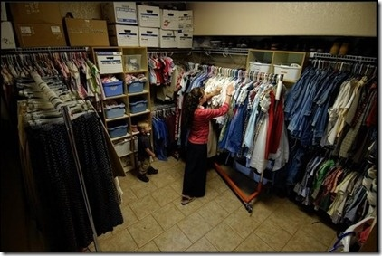 Benefits of a Family Closet - Not only for big families!