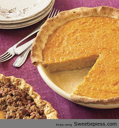 Miss Robbie's Sweet Potato Pie Recipe
