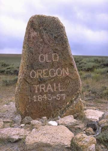 Oregon National Historic Trail, Missouri to Oregon - From the early to mid-1830s and particularly through the epoch years 1846–1869 the Oregon Trail and its many offshoots were used by about 400,000 settlers, ranchers, farmers, miners, and businessmen and their families. The eastern half of the trail was also used by travelers on the California Trail (from 1843), Bozeman Trail (from 1863), and Mormon Trail (from 1847) before turning off to their separate destinations.