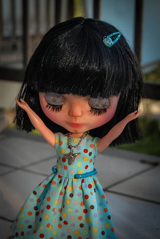 Stardust (basaak doll customized by me and sold)