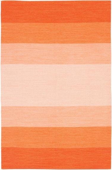 Orange Ombre India Rug