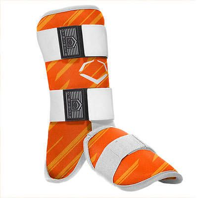 Other Baseball Protective Gear 181317: Evoshield Speed Stripe Adult Baseball Batters Ankle/Leg Guard - Orange -> BUY IT NOW ONLY: $54.95 on eBay!