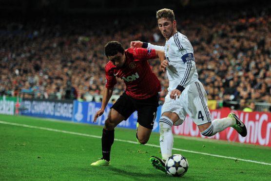 Rafael takes on Sergio Ramos