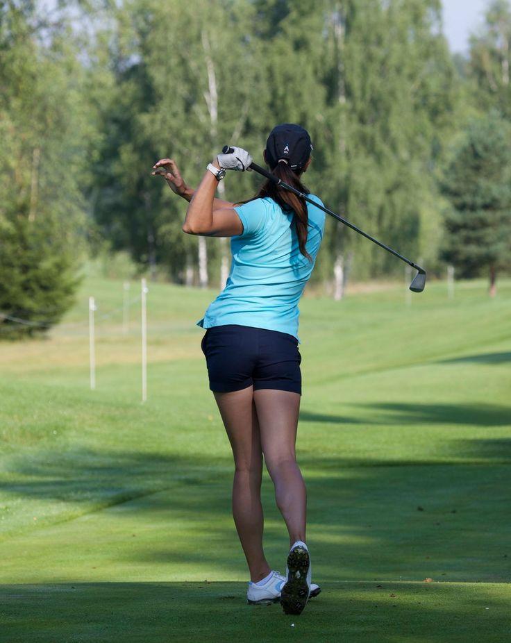 Maria Verchenova Professional golf player, Olympic Record Holder