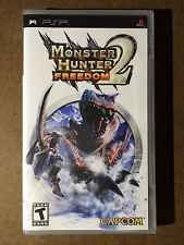 Monster Hunter Freedom 2 (PlayStation Portable, 2007) Factory Sealed!